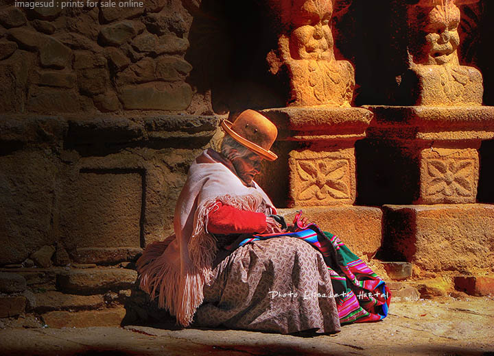 Color street photography : Bolivia