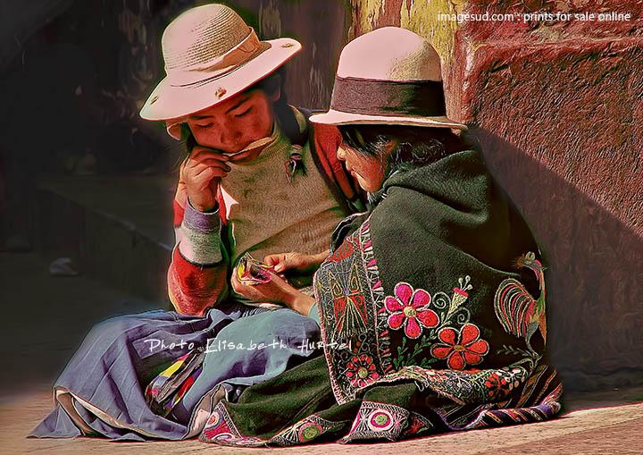 Street kids, Altiplano, Bolivia