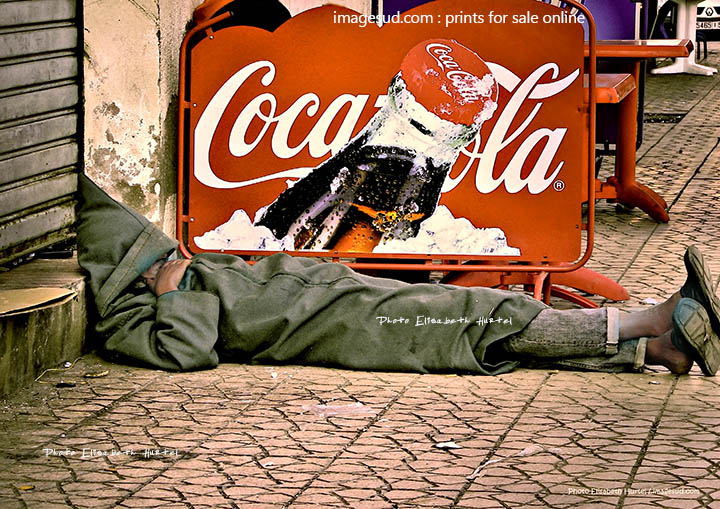 Coca Cola, street photography