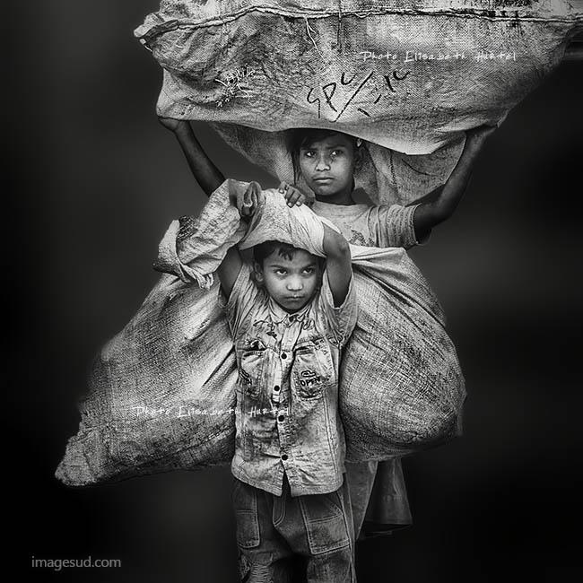 Street kids of India