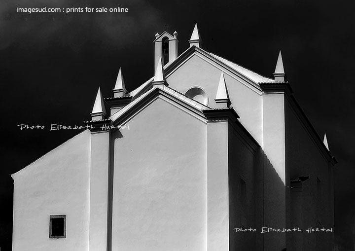 Minimalist style urban photography black and white