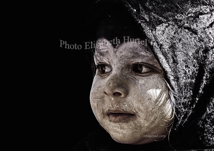 Carnaval, fotografia en blanco y negro