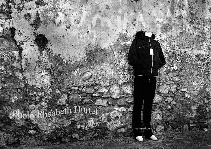 Homo sapiens, fotografia en blanco y negro