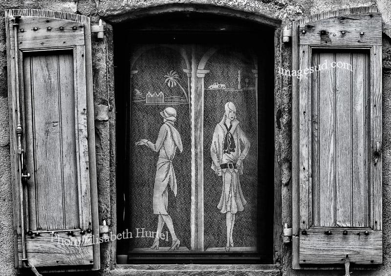La belle époque, Francia, foto en blanco y negro