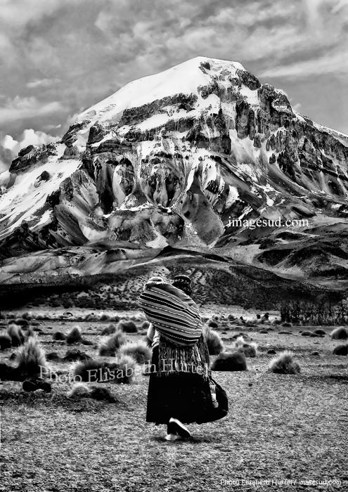 Caminando hasta el Sajama, Bolivia