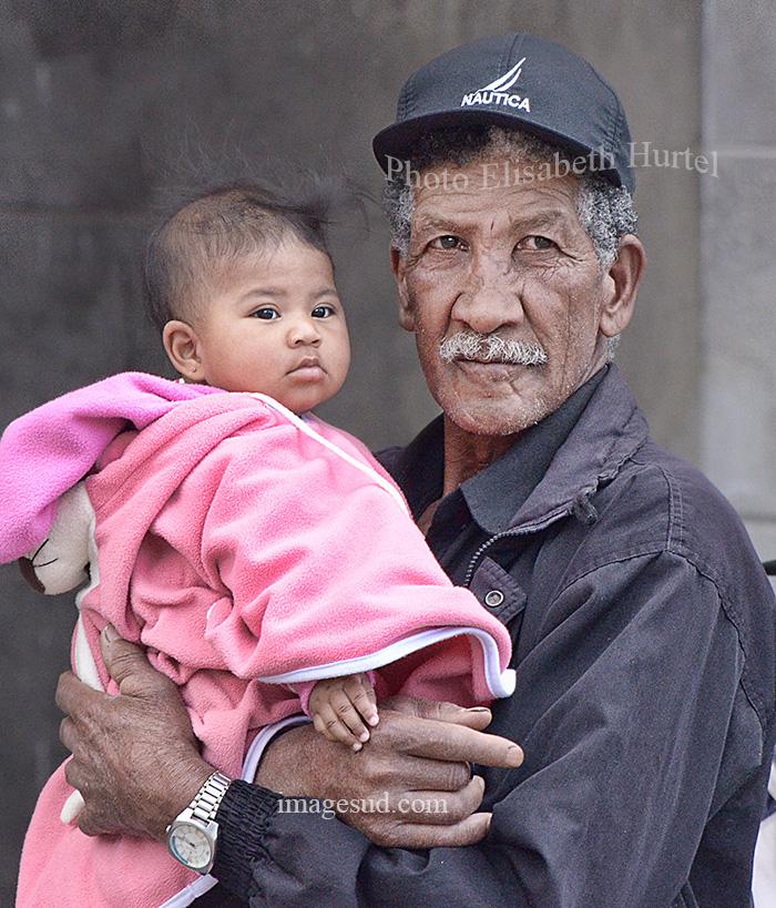 Portrait d'un grand-père