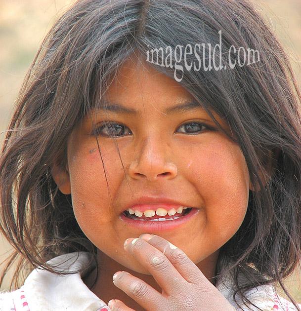 Enfant de Bolivie
