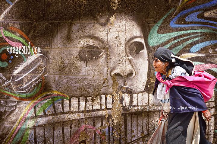 peinture murale, street art, amerique du sud
