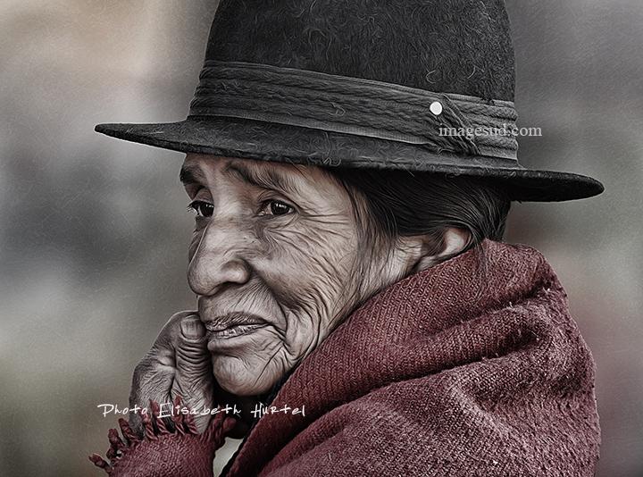 Portrait soul portrait, art