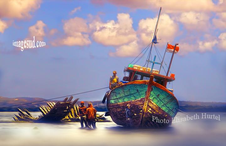 Bateau, Indonésie / Fishing  boat Indonesia