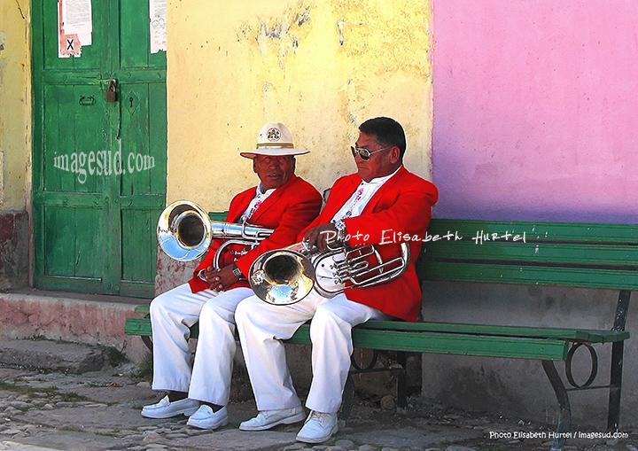 Musiciens de Bolivie