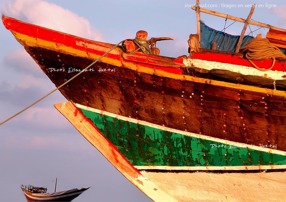 Photo très décorative d'un boutre de la Mer Rouge, tirage poster en vente en ligne
