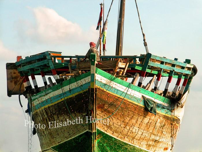 vieux gréement, bateaux éxotiques, boutre de la Mer Rouge