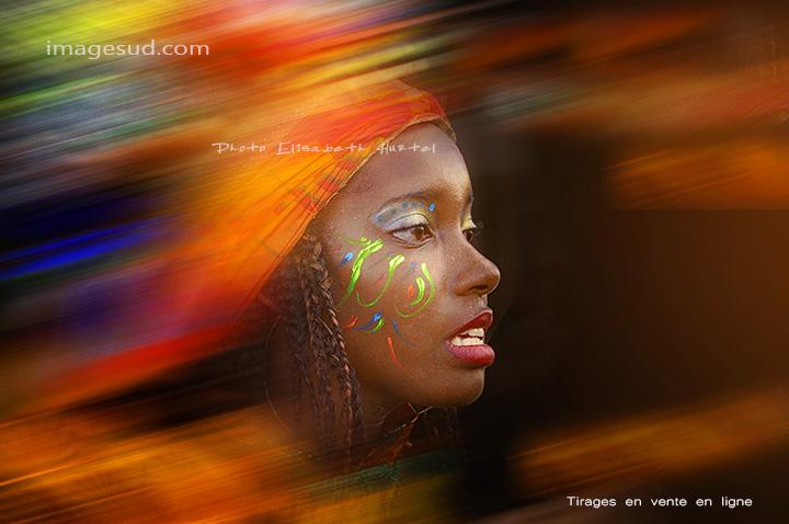 Portrait de carnaval
