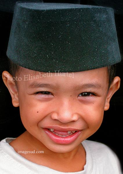 Enfant de Malaisie, portrait