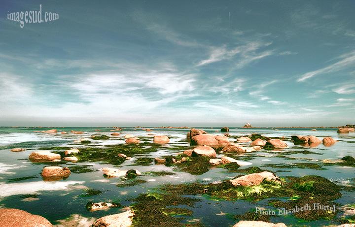 Le calme avant la tempête, la mer