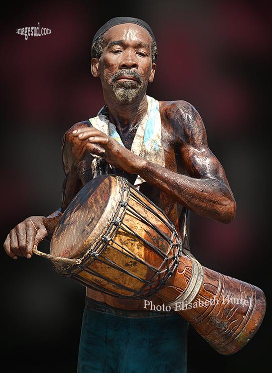 Musique, tambour, djumbe, Afrique