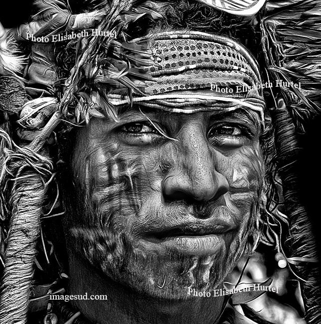 portrait, arts premiers, Papouasie Nouvelle Guinée