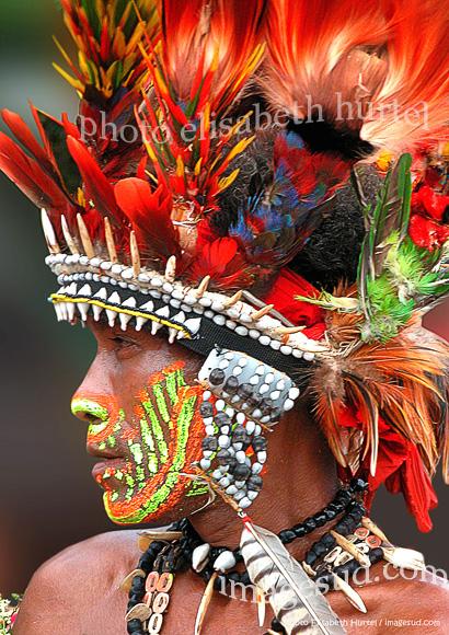 Achetez un tableau-photo : splendeur papoue