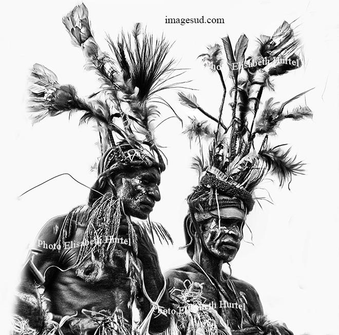 Danse coutumière en Papouasie