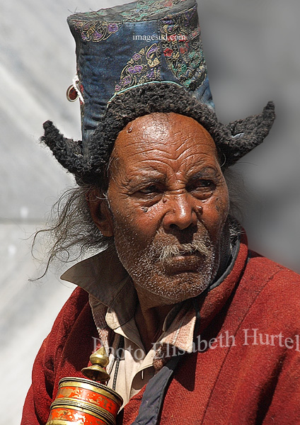 Portrait, visages du monde : peuple du Ladakh, Himalaya