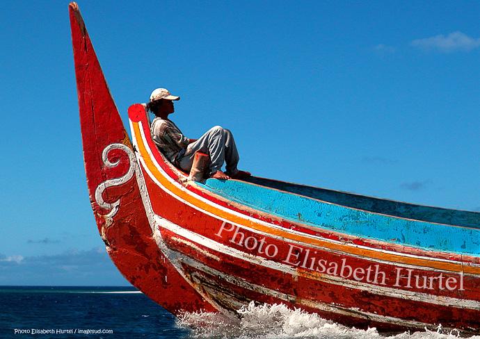 Poster d'art, panneau mural : bateau à Bali
