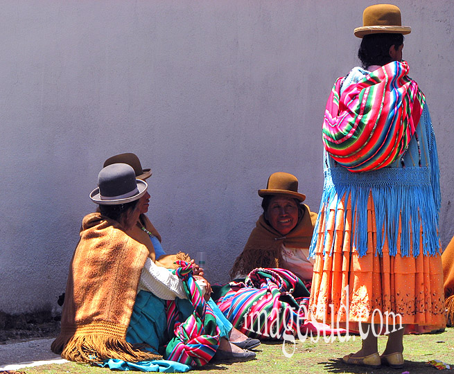 Costume traditionnel en Bolivie