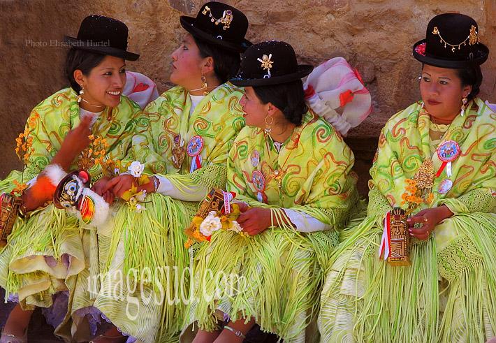 Glamour, la dernière mode Aymara sur l'altiplano de Bolivie