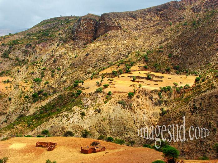 Paysage des Andes en Bolivie