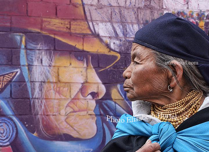 Face à face, portrait et peinture murale dans les Andes