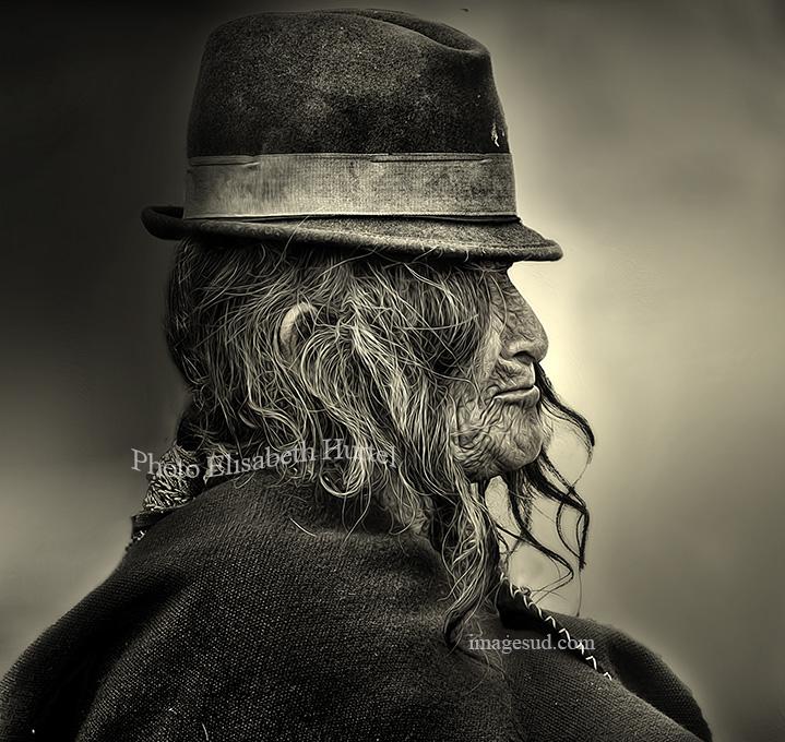 Profil, Andes. Andean portrait.
