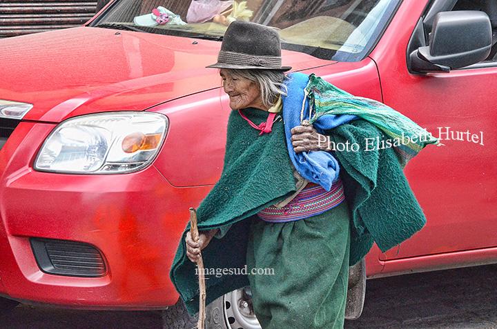 Les indiens dans la ville, l'ancien monde et le nouveau